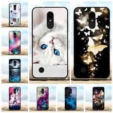 For LG K4 2017 Case Ultra-slim Soft TPU Silicone For LG K4 M160 Cover Animal Patterned For LG Phoenix 3 Fortune Bumper Shell все цены