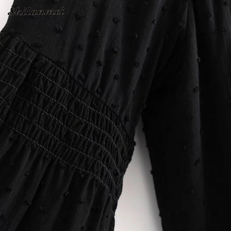 Elegante marfil Suelta Manga De Camisa Encaje Blusa Blanco 2018 Negro Tops Tamaño Casual Cuartos Floral Negro Más Camisas Tres Mujeres qTBHfxt1