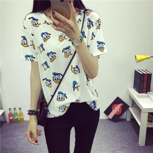 Summer New Fashion Female T-shirt