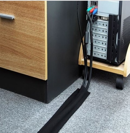 Wire Cover Floor | 25meters Pack Strong Floor Cable Cover Protection Hook Carpet Wrap