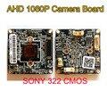 Diy 3000tvl ahd cmos de 2mp 1080 p sony imx322 + 2441 h dsp analógico cctv pcb câmera de bordo do módulo frete grátis