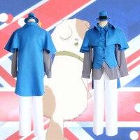 Anh Arthur Kirkland cosplay trang phục Nhật Bản anime Hetalia Axis Powers cosplay quần áo
