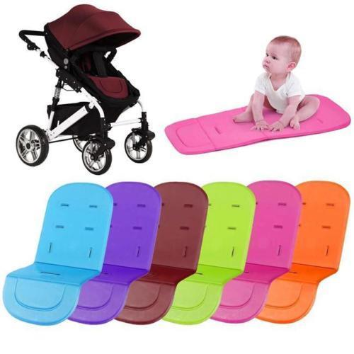 Pudcoco Stroller Washable Cover Pads Pushchair Car Seat Padding Pram Liner Sleep Seat Cushion