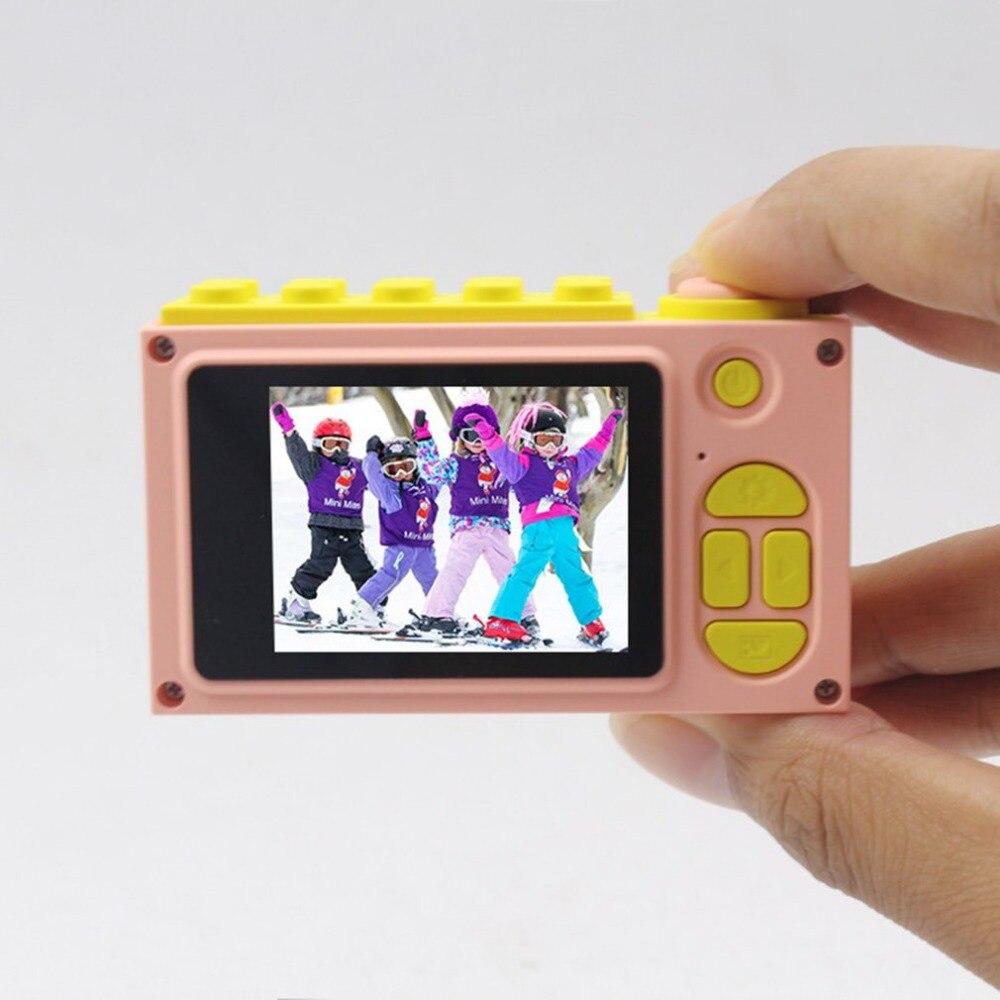 2.0 pouces 8MP 1080 P Mini caméra numérique caméra pour enfants mignon multi-fonction jouet caméra enfants pour le tir sous-marin - 2