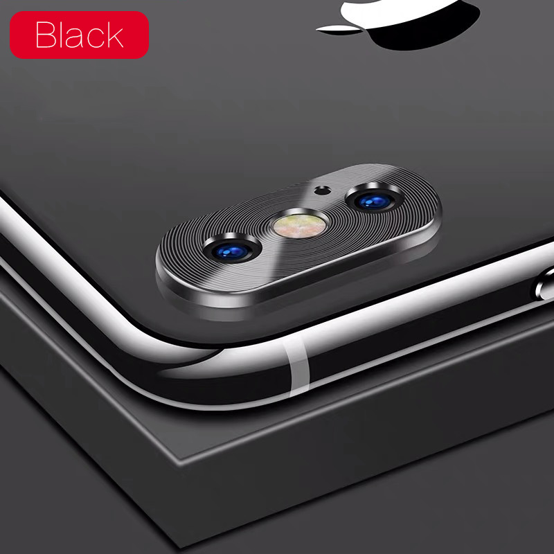 KIPX1118B_1_Metal Camera Lens Protector for iPhone X XS XR XS Max 360 Full Protection Anti-scratch Camera Protective Cover