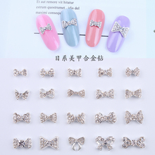 100pcs K9 Series Crystal Alloy Nail Art Rhinestones 6*13mm Crystals AB Gem Charm For 3D Decoration #JC217