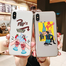 American TV Riverdale Jughead Jones Woz Here Soft silicone phone cover for iPhone MAX XS XR X10 5 5S 5SE 6 6SPlus 7 8Plus