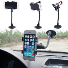 JINHF Автомобильный держатель для телефона держатель на лобовое стекло для телефона в Автомобильная поддержка мобильный телефон автомобильные аксессуары Автомобильный Стенд крепление для iphone