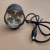 Wholesale 5Pcs Bicycle Bike Front Light Ultra Bright 8000LM LED Mountain Bike Bicycle Head Light Cycling