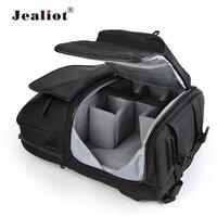 Jealiot Multifunctional dslr sling bag Camera Backpack case digital Video Photo lens waterproof shockproof for canon 80d 60d