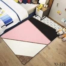 Anti-slip Soft Carpet Large Floor Carpets For Living Room Modern Faux Fur Area Rug Bedroom Shaggy Home textile