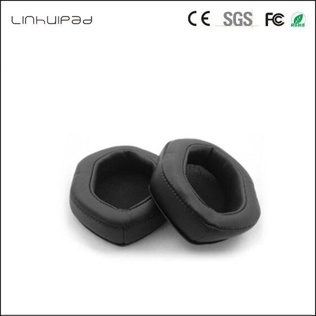 Linhuipad V MODA XL Memory Ear Cushions for Crossfade M 100 LP2 LP Over Ear Headphones (Black) 1 pair/lot