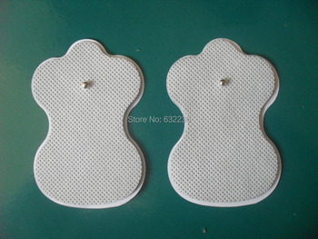 5000pcs(2500 PAIRS) good quality white Electrode Pads for Tens Acupuncture,Slimming massager , Digital Therapy Machine Massager