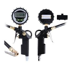 Digital Tyre Pressure Gauge LCD Tire Barometer Meter Tester Car Motorcycle Inflated Pumps Deflated High Precision Air Manometer u liquid manometer differential pressure gauge barometer organic tube 1000pa 02000pa