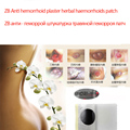 5 pcs patch for hemorrhoid anal fissure bleeding pain relief treatment   ZB Anti hemorrhoid plaster herbal haemorrhoids