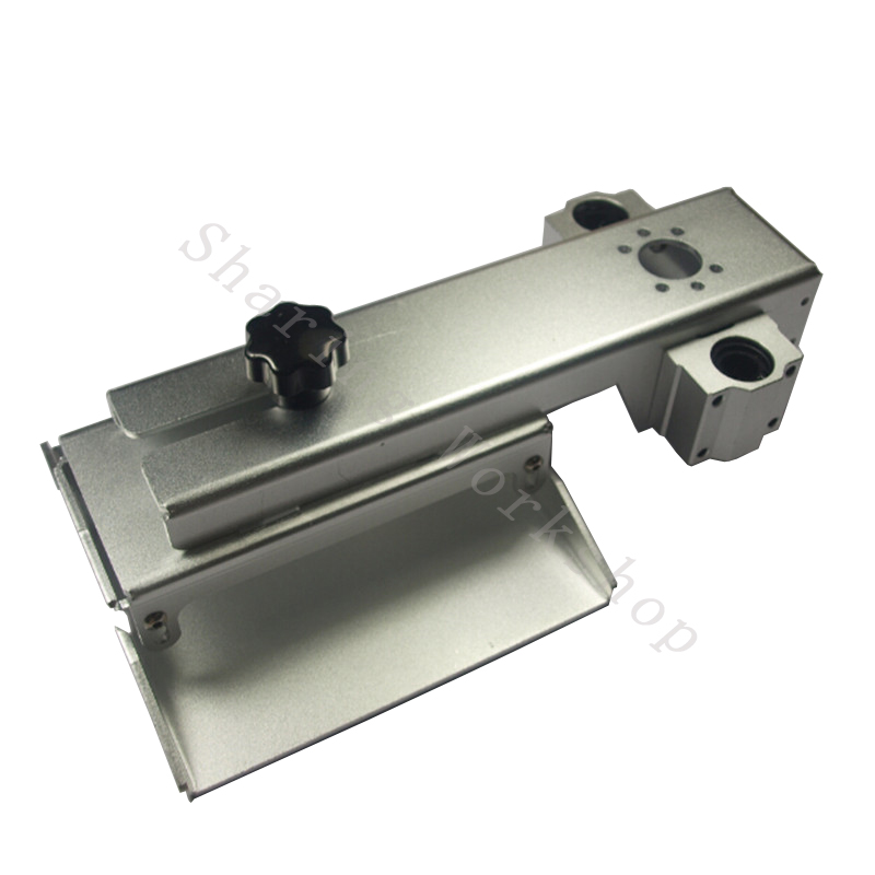 SWMAKER DLP SLA Form Z axis aluminum build platform kit for DIY 3D printer 150*150 mm aluminum building plate Z axis system kit цена