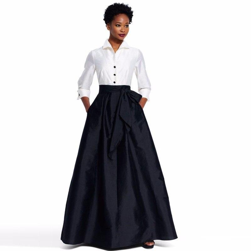 Женская юбка с бантом