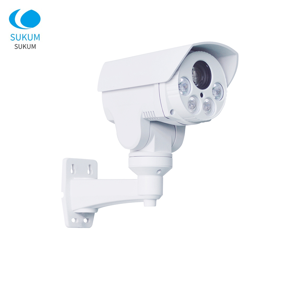2MP 5MP Waterproof Bullet PTZ IP Camera 10X Optical Zoom IR Distance 50M Surveillance Security Ourdoor Network Camera image