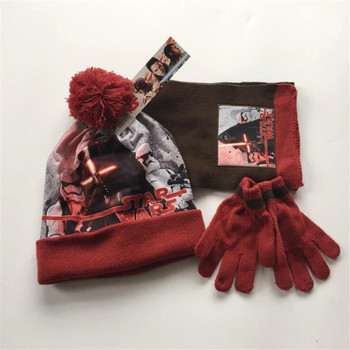 Шапка, шарф и перчатки Звездные воины 1