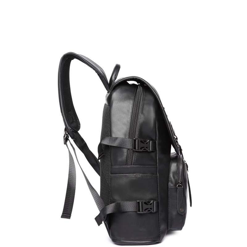 6ce6145ee123 FANKE POLO Men Backpack Leather Korean Fashion Laptop Bag Pack Business  Male Tote Travel Backpack School Bag Teen Boy FB1007 N-in Backpacks from  Luggage ...