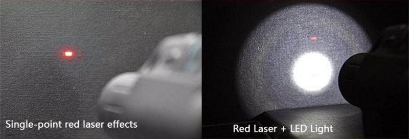 Para Rifle Pistola Tiro Lanterna LED combo Visão