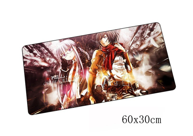 attack on titan padmouse 60x30cm anime pad to mouse notbook computer mousepad best gaming mouse pad gamer to laptop mouse mat