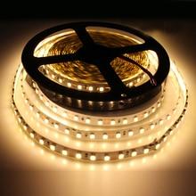 Tanbaby Led Strip lights 5M 600 LED DC12V SMD3528 120led/M Non-waterproof flexible led tape rope indoor home lighting backlight