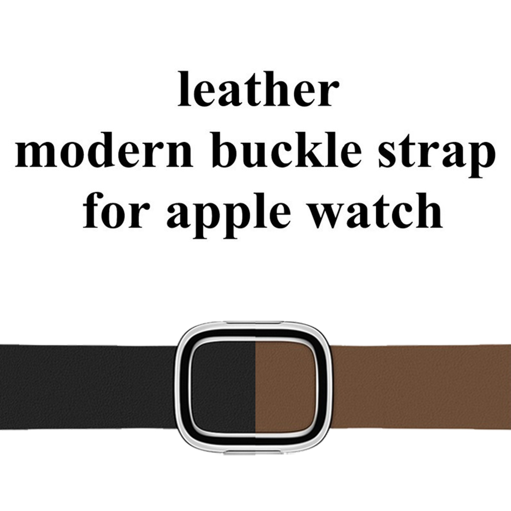 Modern Buckle Leather for Apple Watch Band 42mm 38mm Genuine Leather bracelet Watchband Strap for iwatch 3/2/1 Accessories eastar genuine leather bracelet for apple watch band 42mm 38mm iwatch watch accessories for apple watch strap watchband