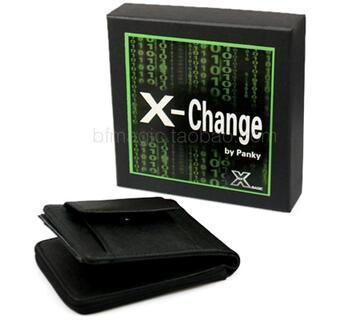 magic tricks magic prop X_magic X-Change Wallet one wallet  free shipping