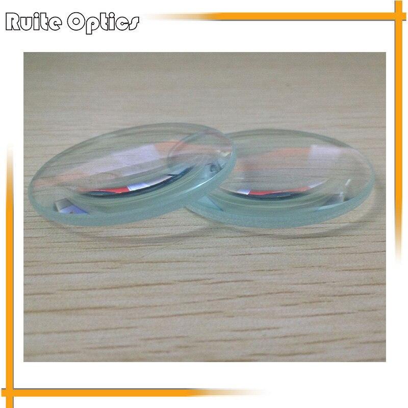 ᑎ‰2 unids 50mm vidrio óptico gran longitud focal Opti doble lente ...