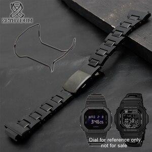 Image 3 - Plastik saat bandı 26*16mm kayış DW 6900/DW9600/DW5600/GW M5610 ve paslanmaz çelik kasa tampon aksesuarları