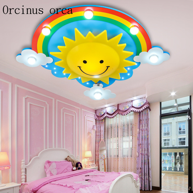 s lamp lighting boys butterfly girls led light princess personality children fashion item and ceiling room creative