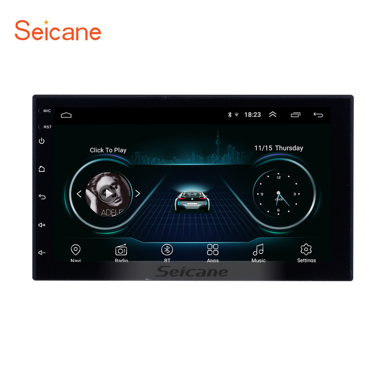 Seicane 2Din Android 8.1 Car Radio Stereo Multimedia Player GPS Navi For Universal TOYOTA Nissan Kia RAV4 FJ CRUISER ALPHARD-in Car Multimedia Player from Automobiles & Motorcycles