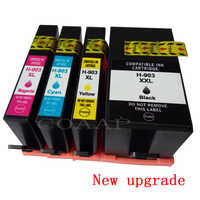 New upgrade 903 903XL compatible ink cartridge for hp Officejet Pro 6950 6960 6961 6963 6964 All-in-one Printer, hp 903XL 907XL