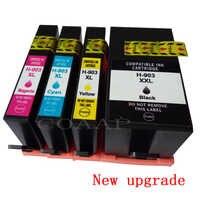 Nuovo aggiornamento 903 903XL cartuccia di inchiostro compatibile per hp Officejet Pro 6950 6960 6961 6963 6964 All-in- una Stampante, hp 903XL 907XL