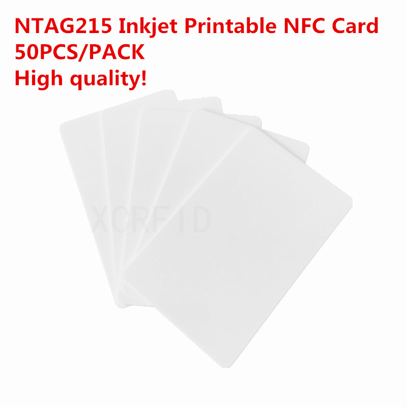 Ntag215 NFC Forum Type 2  Inkjet Printable DIY NFC Card w/540 Byte For all NFC Mobile Phone device 50PCS 1800w lithium battery 48v 40ah for electric bicycle drive motor 48v with 54 6v charger and 50a bms 48v ebike battery diy bike