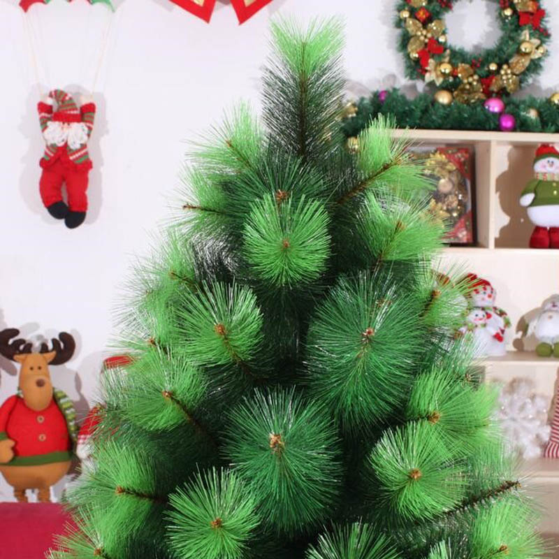 18m 180cm luxury encryption christmas pine neddle tree diy decor pvc metal frame xmas christmas new year decoration za1173 in trees from home garden on