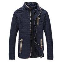 YWSRLM Men S Autumn Winter Jackets Fashion Men Jacket Stand Collar Male Jacket Coat Windproof Jacket