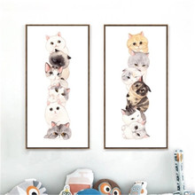 DIY Full Diamond Embroidery, 5D Cat Painting, Diamonds Mosaic Dreams cross-stitch