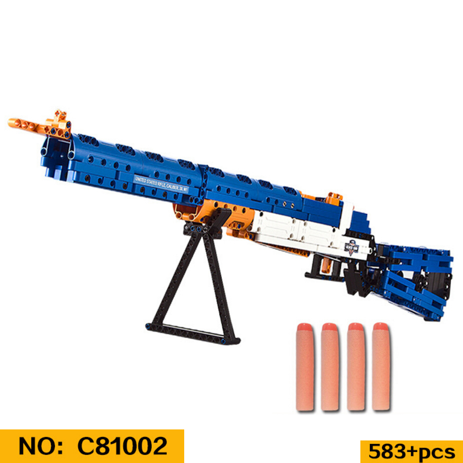 Здесь продается  Idear modern military wars M1 United States Rifle building block gun model assemblage brick with soft bullet toys for boys gifts  Игрушки и Хобби