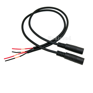 Free Shipping 10Pcs High quality DC Power Plug Male Charger Connector Cable 40cm 5.5 * 2.1mm for Laptop PC