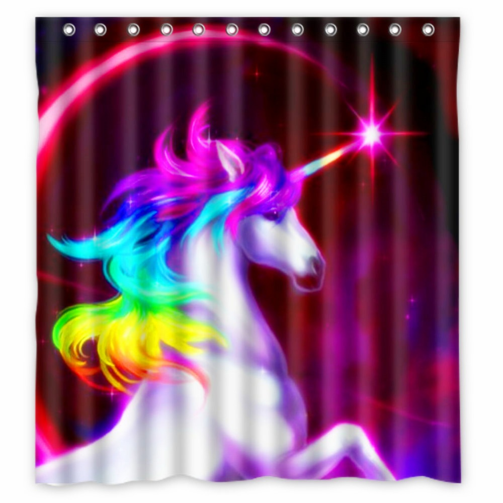 Fairy shower curtain - Anime Shower Curtain One Piece Dragon Ball Z Bleach Fairy Tail Naruto Together Unicorn Backgrounds For