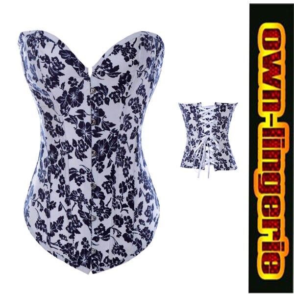 2014 new arrivals fashion flower print cheap corset , fashion corset womens clothing intimates shaper corset sale cheap w3327