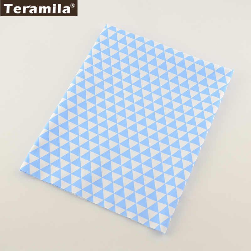 Nouveau tissu en sergé de coton léger BlueTriangle tissu de coton matelassé doux TERAMILA Twill Tecido Textile à la maison bébé literie