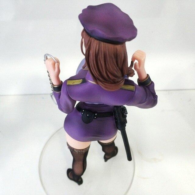 Сексуальные противный S полиции женщина Акико Designed By Ода не фигура ПВХ кукла аниме игрушки фигурку коллекция мультфильм для подарок другу 3