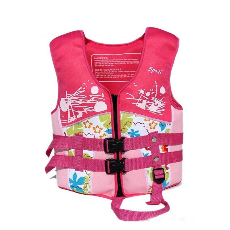 Kids swimming vests kayak life jacket water sports jacket for Toddler fishing vest