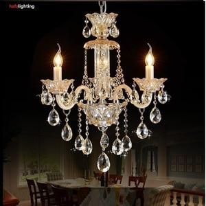 Image 5 - Chandelier Chiếu Sáng Hiện Đại đèn pha lê Xuất Khẩu K9 Crystal Chandelier Candle đèn chùm pha lê Biệt Thự phòng khách đèn chùm