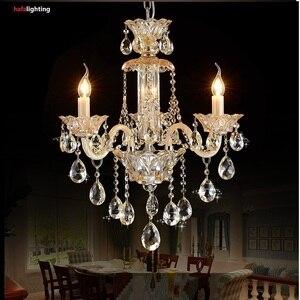 Image 5 - Chandelier Lighting Modern crystal lights Export K9 Crystal Chandelier Candle chandeliers crystal Villa living room chandelier