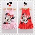 2015 bebés del vestido del bebé vestido de la historieta kids wear Girls Princess Dress party kids ropa vestidos infantis, vestidos de menina