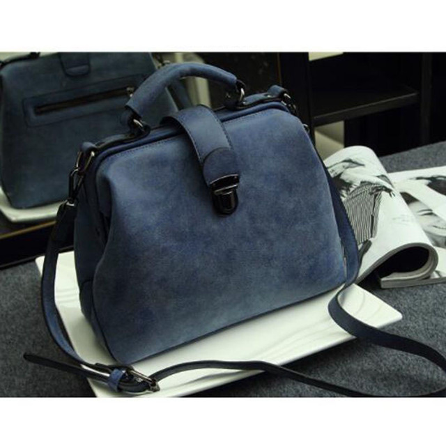 Ladies Scrub Leather Doctor Bags